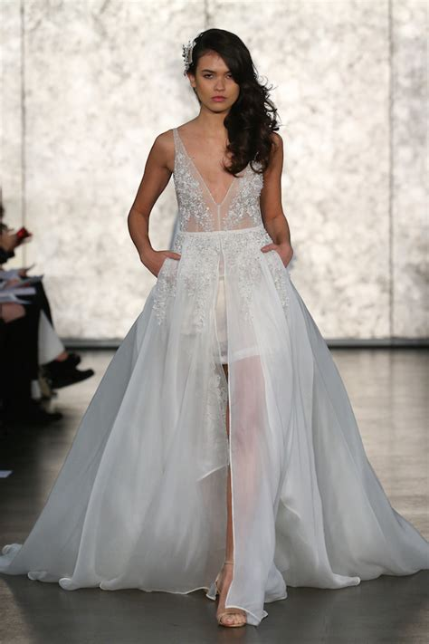 bridal fashion week best of bridal fashion week inbal dror wedding dress