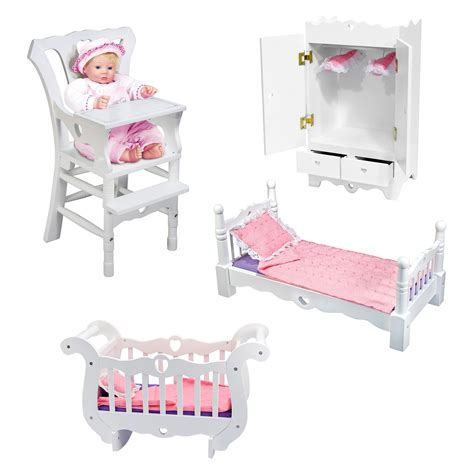 and doug high chair and doug doll high chair baby doll furniture at