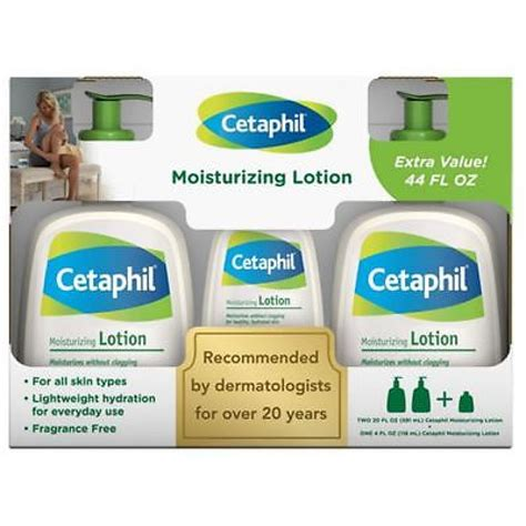 Cetaphil Kit kit cetaphil moisture lotion 2 591ml 118ml pontocom