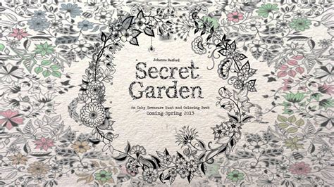 secret garden coloring book cover secret garden an inky treasure hunt and coloring book