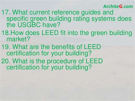 what is a leed certification leed ga exam prep green building leed certification and