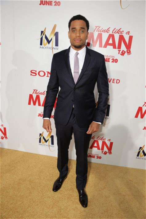 michael ealy think like a man too the think like a man too cast get decked out for la red