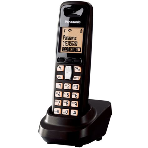Telephone Wireless Panasonic Kx Tg6411 It Black Diskon panasonic kx tg6451 fijo tel dect tel 233 fonos
