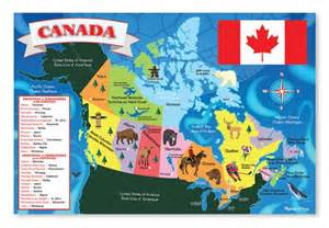 Canada Map Games by Canada Map Floor Puzzle