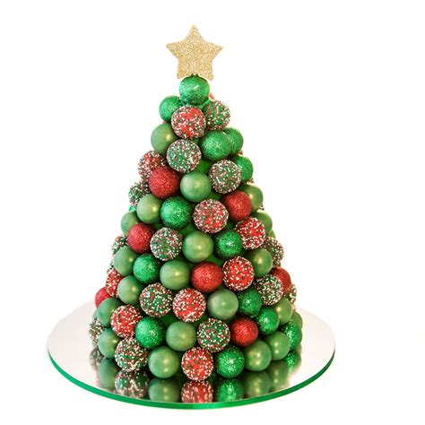 28 best pop christmas tree everyday foodie cake pop