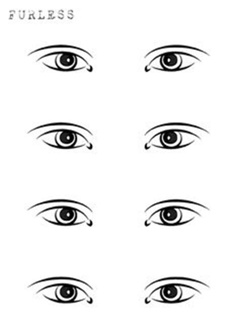 Blank Eye Makeup Template Www Pixshark Com Images Galleries With A Bite Eye Makeup Template