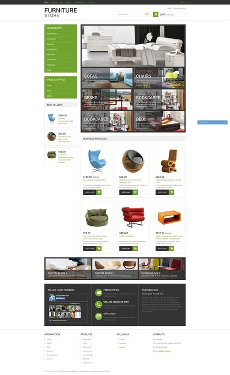 sahifa theme live demo modern furniture shopify theme 50939