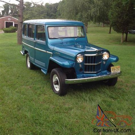 1962 willys jeep 1962 willys wagon