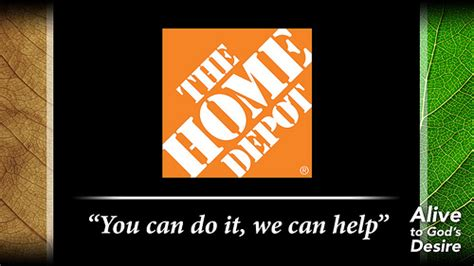 pic 4b home depot with slogan flickr photo