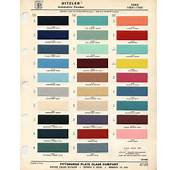Fender&174 Forums • View Topic  Fender Color Chart And Automobiles