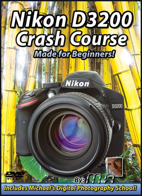 online tutorial for nikon d3200 nikon d3200 crash course tutorial training video now