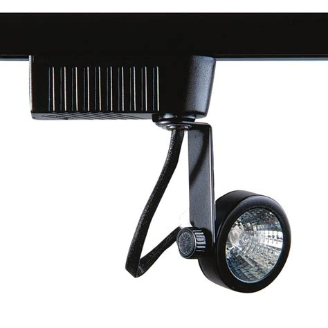 Designers Choice Collection 201 Series Low Voltage Mr16 Black Track Lighting Fixtures
