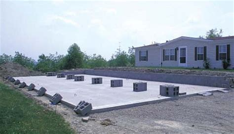 modular home slab foundation modular home