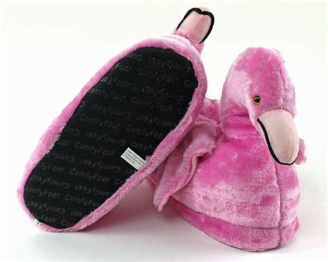 flamingo slippers pink flamingo slippers flamingo slippers animal slippers