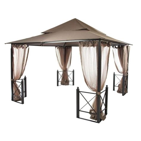 Gazebo Replacement Cover by Gazebo Canopy Replacement Covers 10x10 Home Depot