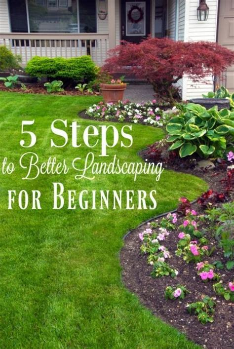easy to do landscaping ideas 5 landscaping tips for beginners landscapes landscaping