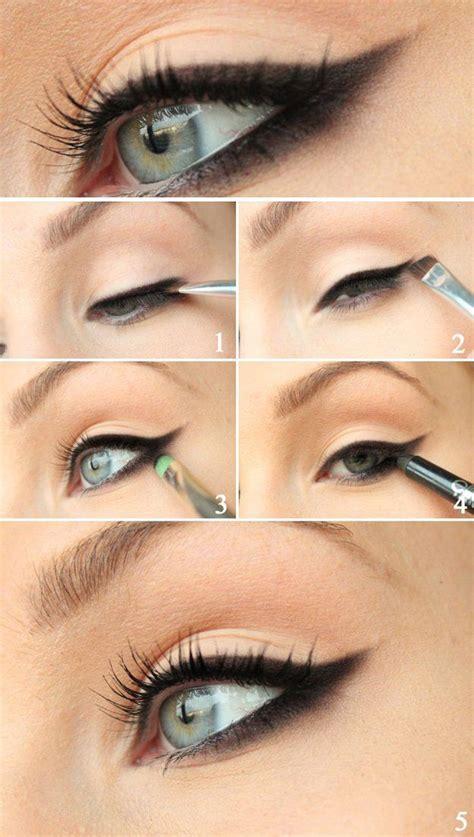 tutorial eyeliner wings 25 best ideas about winged eyeliner tutorial on pinterest