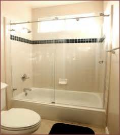 Bathtubs With Glass Shower Doors Home Depot Shower Doors For Bathtub Home Design Ideas