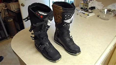 size 11 motocross boots fly racing maverik motocross riding boots size 11 sold