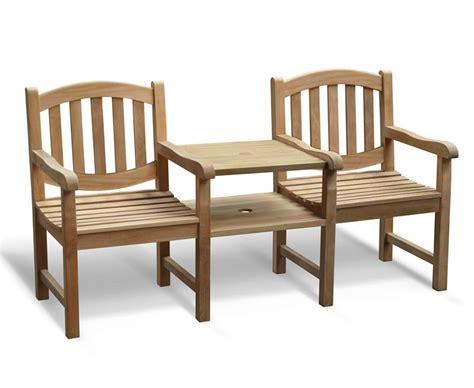 companion bench ascot vista teak companion seat