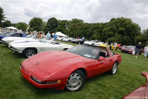 auction results and data for 1991 chevrolet corvette c4