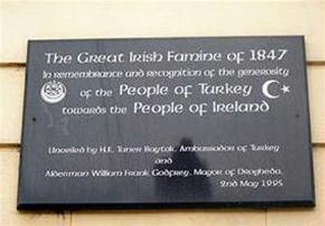Ottoman Aid To Ireland Ottoman Aid During The Famine