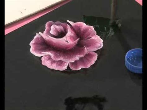 imagenes de uñas pintadas rosa pintar rosas y hojas pinceladas silvia mongelos youtube