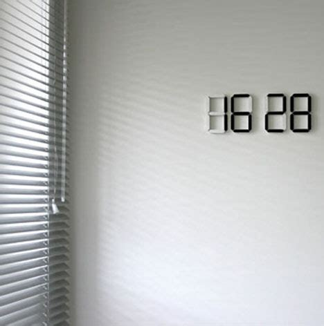 time   wireless oled color changing wall clock