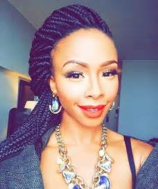 mzansi braids hairstyle boity thulo s beauty lookbook glamour south africa