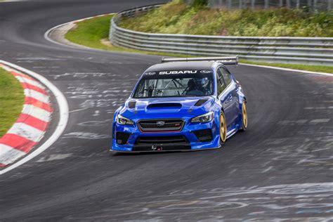 subaru nurburgring subaru set a nurburgring record 187 autoguide com