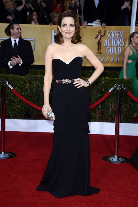tina fey dress tina fey strapless dress tina fey fashion looks