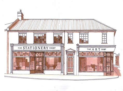 painting workshop buildings building illustrations shop beccles