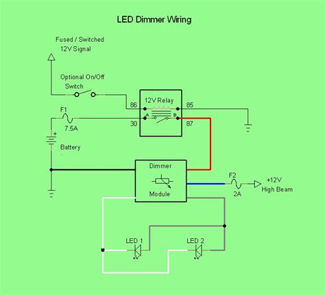 dimmable led wiring diagram get free image about wiring