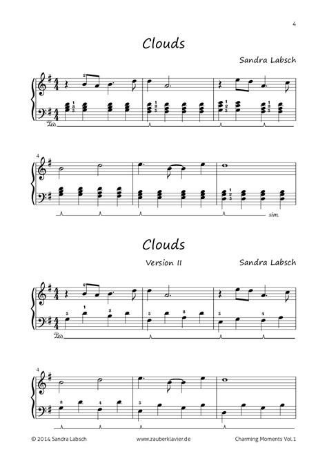 ab wann klavier lernen klaviernoten einzelausgaben aus quot charming moments vol 1
