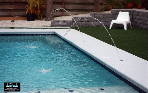 Deck Jets For Swimming Pools by Modern Pool With Deck Jets All Aqua Pools