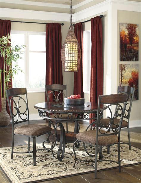 Glambrey Dining Room Set Signature Design By Glambrey Dining Table And