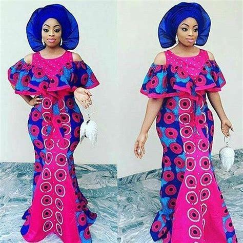 nigerian aso ebi dress style and designs latest pink aso ebi ankara styles for nigerian women