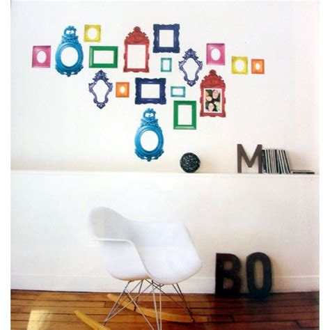 wall stickers frames kitsch frames wall stickers nouvelles images from funky frame wall stickers for