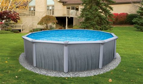 backyard pools above ground above ground swimming pools cost a fraction of in ground pools