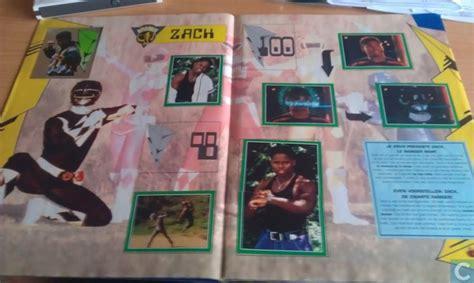 Sticker Stiker Anak Karakter Power Rangers 3 power rangers sticker album merlin collections catawiki
