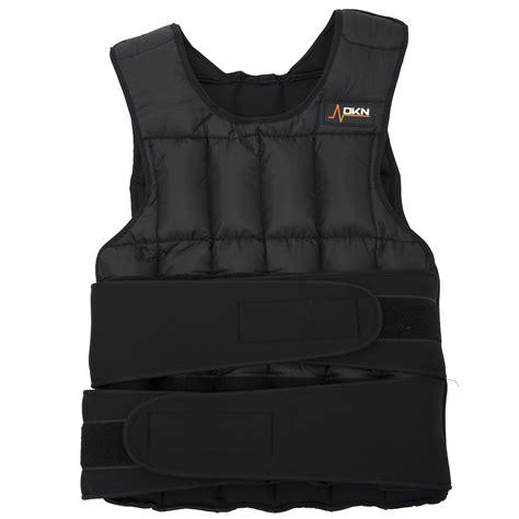 weight vest dkn 20kg adjustable weighted vest