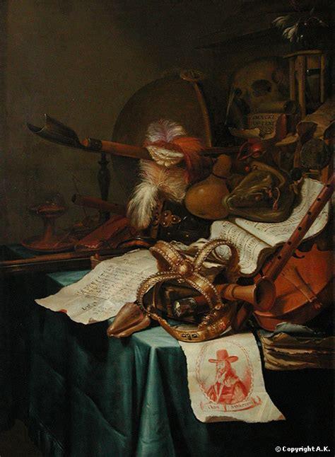 Vincent Laurensz Der Vinne Vanité Avec Une Couronne Royale by Sfa2de5 Vanit 233