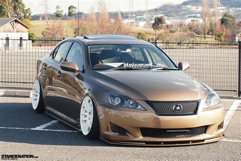 lexus slammed lower standards kenji s usdm styled is250