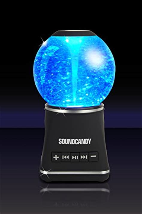 sound storm bluetooth electric snow globe speaker home