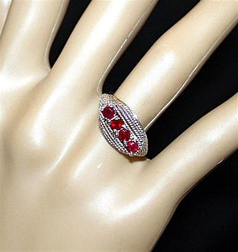 Ruby Burma 1 0ct by 14k Untreated1 0ct Burma Ruby Ring One Of A
