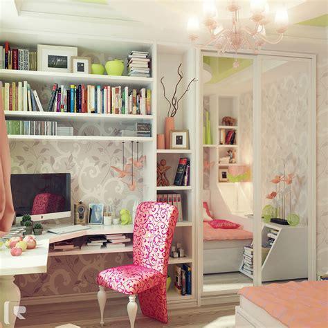 10 wonderful girl rooms home design and interior интерьер подростковой комнаты фото идеи интерьера