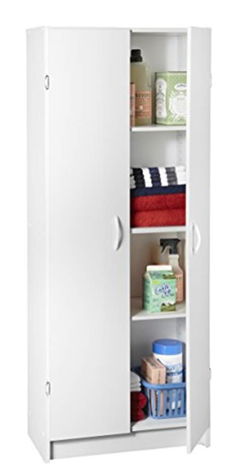 closetmaid 24 inch wide laminate pantry cabinet closetmaid 8967 pantry cabinet white hardware building