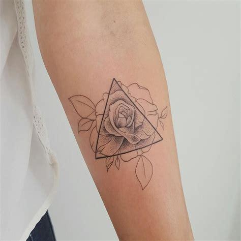 geometric tattoo nz geometric rose tattoo by modificart these tattoos for
