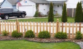 cedar privacy front yard fencing designs backyard fencing
