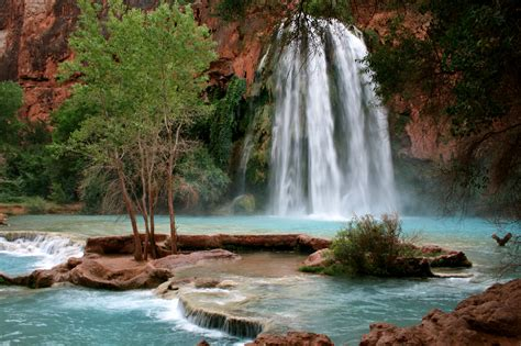 beautiful places to visit in usa havasu falls arizona usa beautiful places to visit